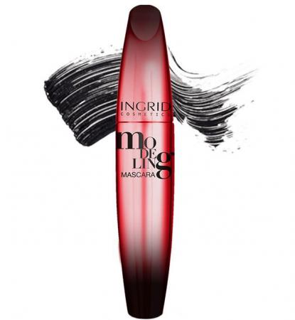 Mascara INGRID Modeling Mascara, Negru, 5 ml