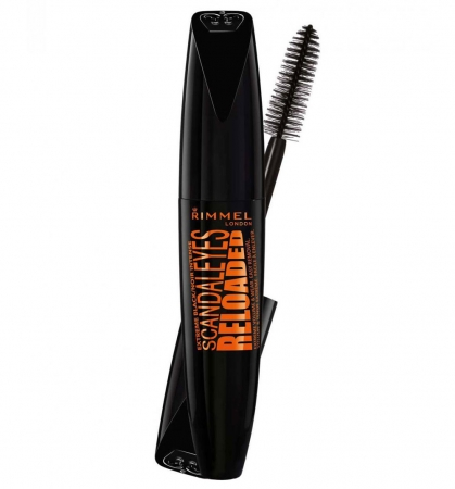 Mascara Rimmel London ScandalEyes Reloaded, 004 Very Black, 12 ml
