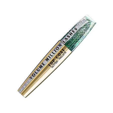 Mascara Transparent cu Sclipici L'Oreal Paris Top Coat Volume Million Lashes Glitter, 8.9 ml2