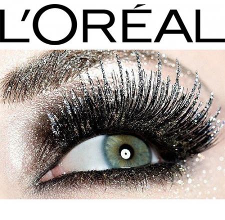 Mascara Transparent cu Sclipici L'Oreal Paris Top Coat Volume Million Lashes Glitter, Hologram, 9 ml1