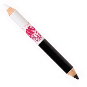 Creion de ochi dublu Maybelline Big Eyes - 01 Black & White0