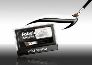 Paleta Tus De Ochi Si Iluminator Miss Sporty Fabulous Gel-Black&White1