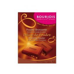 Paleta Bronzanta in forma de ciocolata BOURJOIS Paris Delice de Poudre 52 Peaux mates, 16.5g1