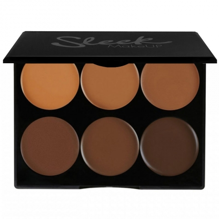 Paleta conturare SLEEK MakeUP Cream Contour Kit Extra Dark 977, 12g0