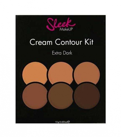 Paleta conturare SLEEK MakeUP Cream Contour Kit Extra Dark 977, 12g1