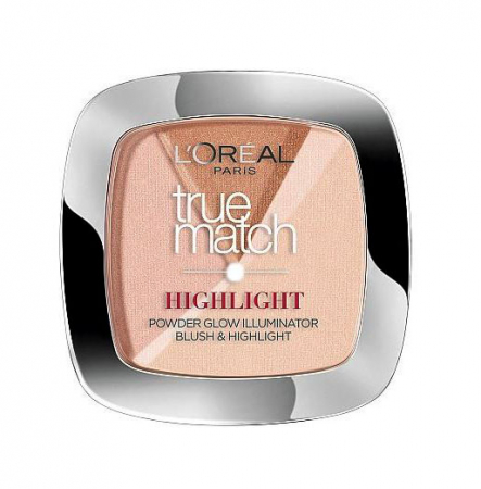 Paleta Cu 3 Iluminatoare L'Oreal Paris True Match HIGHLIGHT - 102 D/W Golden Glow, 9 g