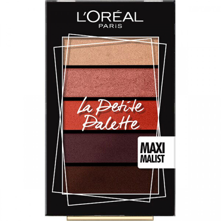 Paleta de Farduri L'Oreal Paris La Petite Palette, 01 Maxi Malist