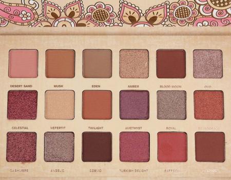 Paleta de farduri Febble Desert Dusk Palette, 18 Colors