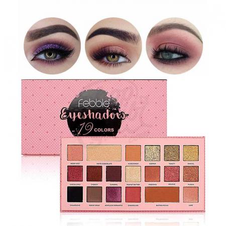 Paleta de farduri Febble Eyeshadow, 19 Colors