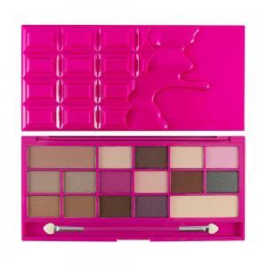 Paleta de Farduri MAKEUP REVOLUTION I Heart Makeup I Love Chocolate - Chocolate Love