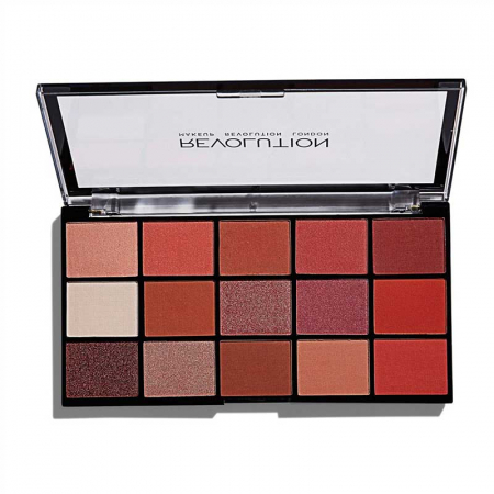 Paleta de farduri Makeup Revolution - Re-Loaded Palette - Newtrals 2, 15 Nuante