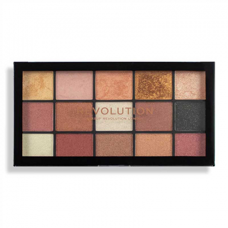 Paleta de farduri Makeup Revolution - Re-Loaded Palette - Affection, 15 Nuante1