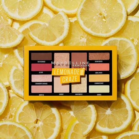 Paleta de farduri Maybelline New York Lemonade Craze, 12 g10