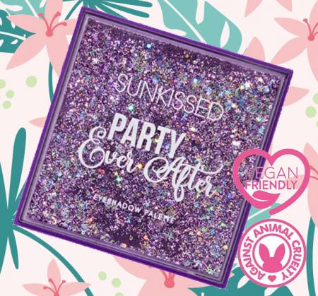 Paleta de farduri SUNKISSED Party Ever After, 16 Culori, 16 g3