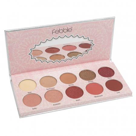 Paleta farduri Febble Eyeshadow Eternal Charm! 10 Colors0