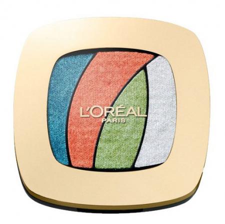 Paleta farduri L'Oreal Paris Color Riche Les Ombres, S4 Tropical Tutu