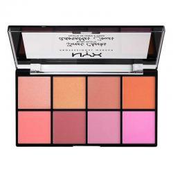 Paleta farduri de obraz NYX Professional Makeup Sweet Cheeks Blush Palette, 8x3.5g1