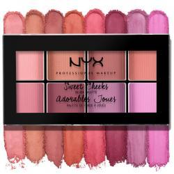 Paleta farduri de obraz NYX Professional Makeup Sweet Cheeks Blush Palette, 8x3.5g3