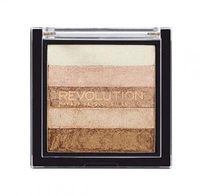 Paleta Iluminatoare Bronzanta MAKEUP REVOLUTION Shimmer Brick Radiant