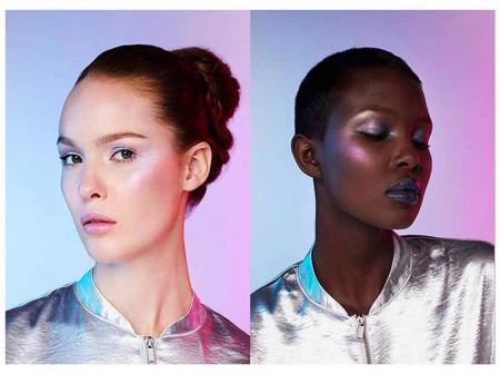 Paleta Iluminatoare L'Oreal Paris Highlighter Glow Kit Holographic Palette5