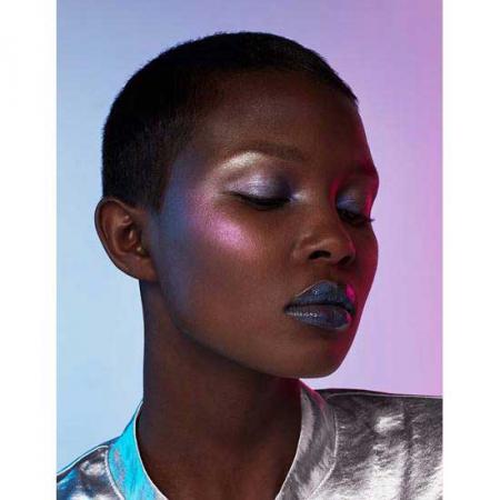 Paleta Iluminatoare L'Oreal Paris Highlighter Glow Kit Holographic Palette6