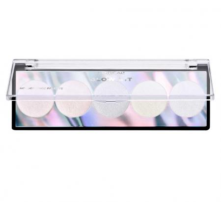 Paleta Iluminatoare L'Oreal Paris Highlighter Glow Kit Holographic Palette1