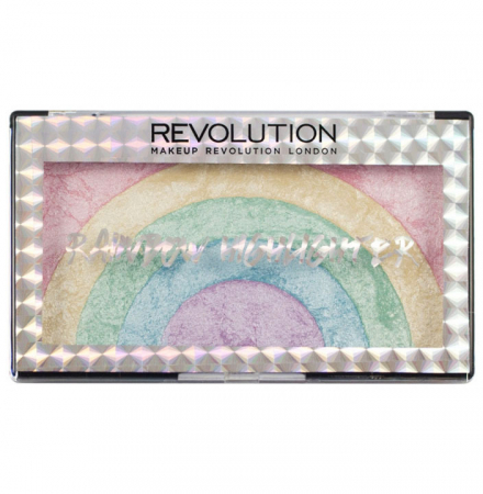 Paleta Iluminatoare MAKEUP REVOLUTION Rainbow Highlighter, 10 g