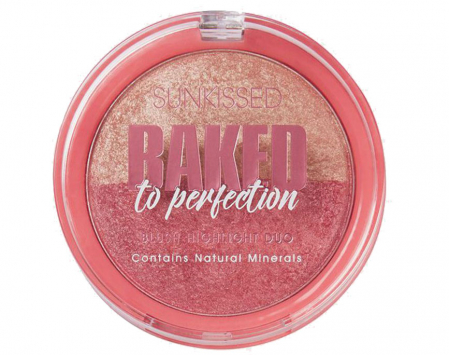Paleta Iluminatoare Duo SUNKISSED Baked to Perfection Blush, 17 g