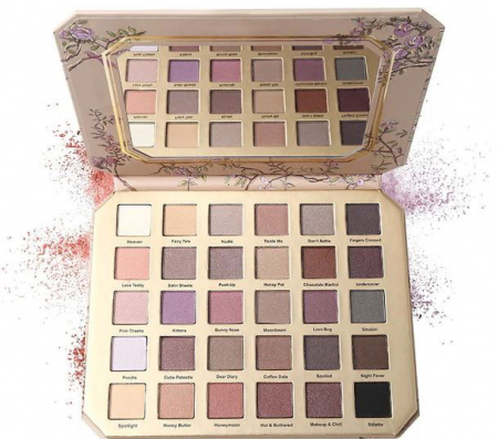 Paleta Farduri Ultimate Neutral, Natural Love Eyeshadow Palette, 30 Culori