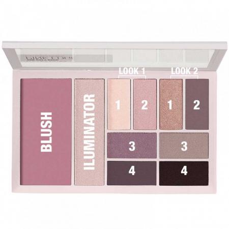 Paleta multifunctionala pentru pleoape si pometi Maybelline New York City Kits, Pink Edge, 12 g2