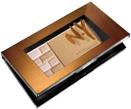 Paleta Pentru Bronz Si Iluminare Maybelline FaceStudio Bricks Bronzer - 01 Blondes, 7 gr2