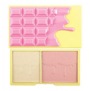 Paleta pentru conturare, iluminare si evidentiere MAKEUP REVOLUTION I Heart Makeup - Light and Glow