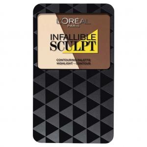Paleta Pentru Conturarea Fetei L'oreal Infallible Sculpt - 03 Medium Dark