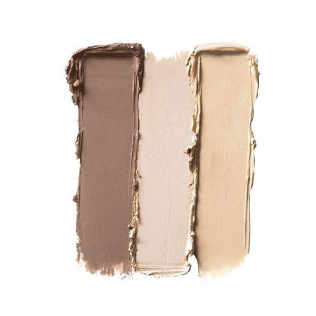 Paleta Pentru Conturarea Fetei NYX Professional Makeup Highlight & Contour, Light1
