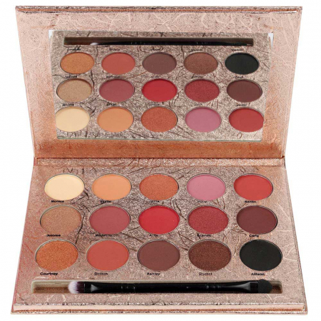 Paleta Profesionala de Farduri KISS CROWN, Gladshein, 15 Color Eyeshadow Palette