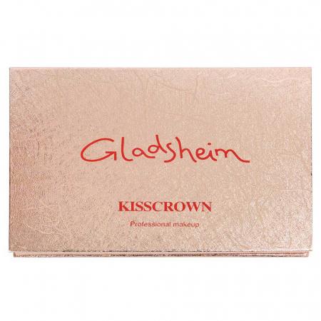 Paleta Profesionala de Farduri KISS CROWN, Gladshein, 15 Color Eyeshadow Palette2