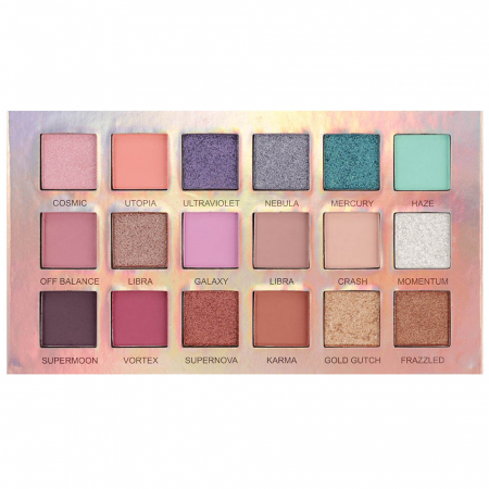 Paleta Profesionala de Farduri Iman Of Noble, 18 Color Eyeshadow Palette, 18 x 1 g2