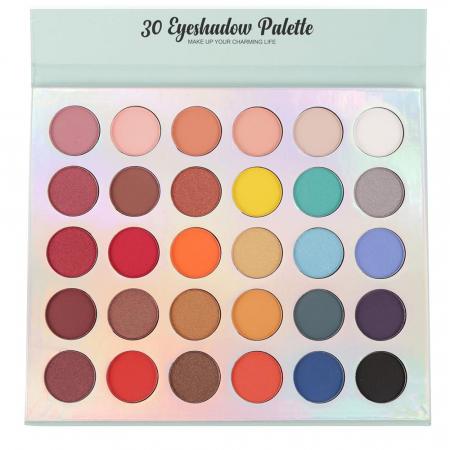 Paleta Profesionala de Farduri PRO.MAKEUP, 30 Eyeshadow Palette, Make Up Your Charming Life