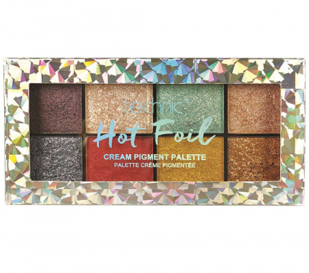 Paleta Profesionala de Farduri Technic 8 Cream Pigment Palette, HOT FOIL, 8 Culori, 30 g2