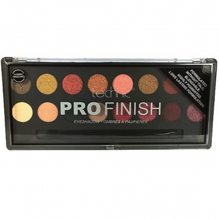 Paleta Profesionala de Farduri Technic PRO Finish Eyeshadow, Hidden Treasures2
