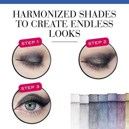 Paleta de Farduri Bourjois Paris Le Smoky Eyeshadow Palette, 02 Le Smoky3
