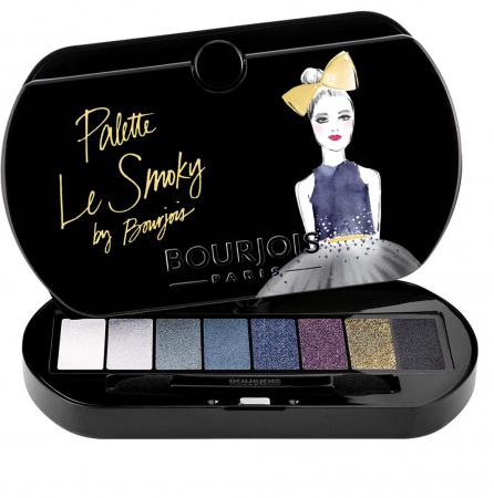 Paleta de Farduri Bourjois Paris Le Smoky Eyeshadow Palette, 02 Le Smoky0