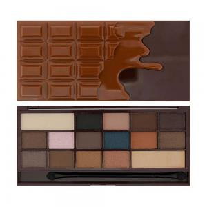 Paleta de Farduri MAKEUP REVOLUTION I Heart Makeup I Love Chocolate - Salted Caramel0
