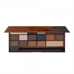 Paleta de Farduri MAKEUP REVOLUTION I Heart Makeup I Love Chocolate - Salted Caramel1