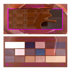 Paleta de Farduri MAKEUP REVOLUTION I Heart Makeup I Love Chocolate - Salted Caramel2