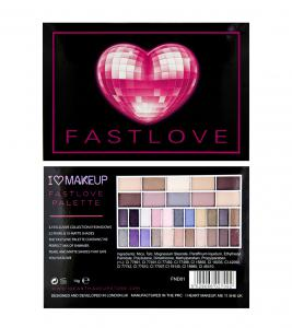 Paleta 32 Farduri Makeup Revolution I Heart Makeup - Fast Love2