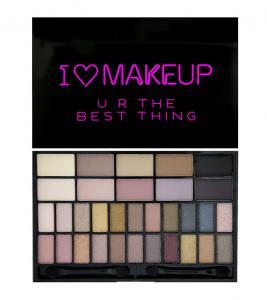 Paleta 32 Farduri Makeup Revolution I Heart Makeup - Ur The Best Thing