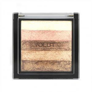 Paleta Iluminatoare Bronzanta MAKEUP REVOLUTION Shimmer Brick Radiant2