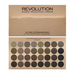 Paleta Profesionala Cu 32 Farduri Makeup Revolution - Flawless1