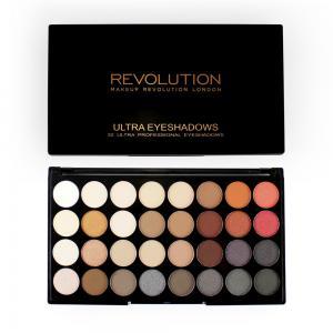 Paleta Profesionala Cu 32 Farduri Makeup Revolution - Flawless 21